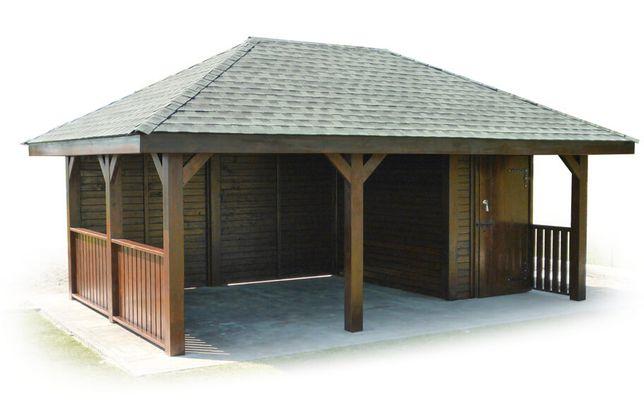 Altana drewniana altana ogrodowa domek