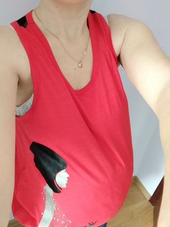Bluzka ciążowa koronka