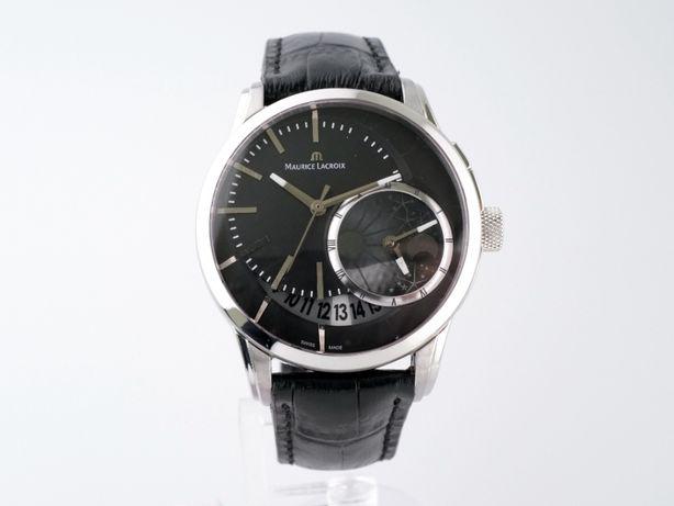 Мужские бу часы Maurice Lacroix Pontos Decentrique GMT 43 мм