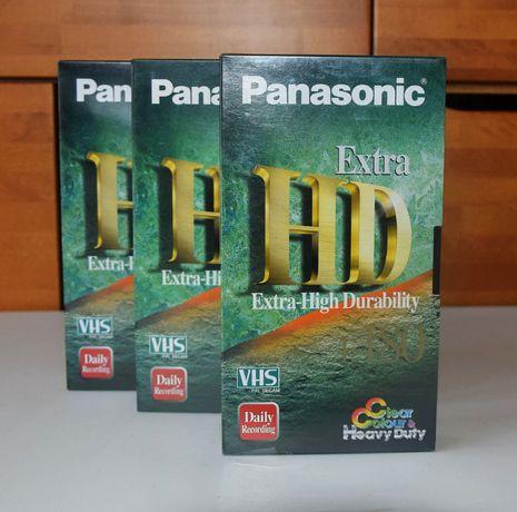Kaseta VHS Panasonic Extra HD E-180 nowa