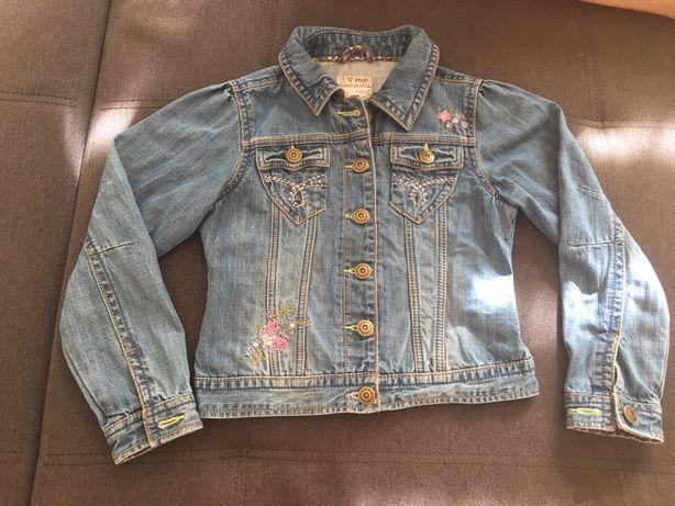 Джинсовый пиджак, комбинезон