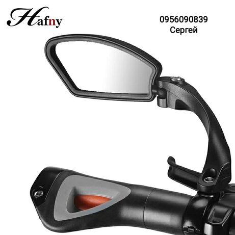 Велосипедное зеркало Hafny заднего вида для вело мото скутера