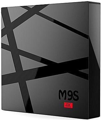 BOX Caixas SMART TV M9S PRO 2/16GB IPTV Canais Android NOVA