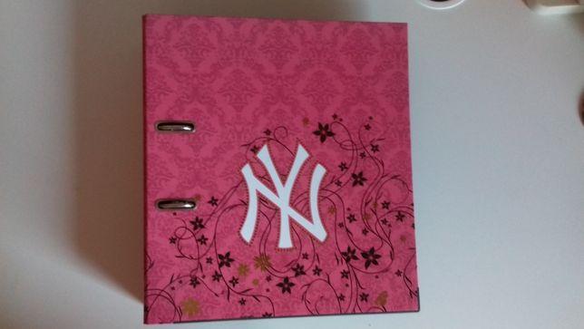 Dossier A4 New York Yankees Cor-de-Rosa
