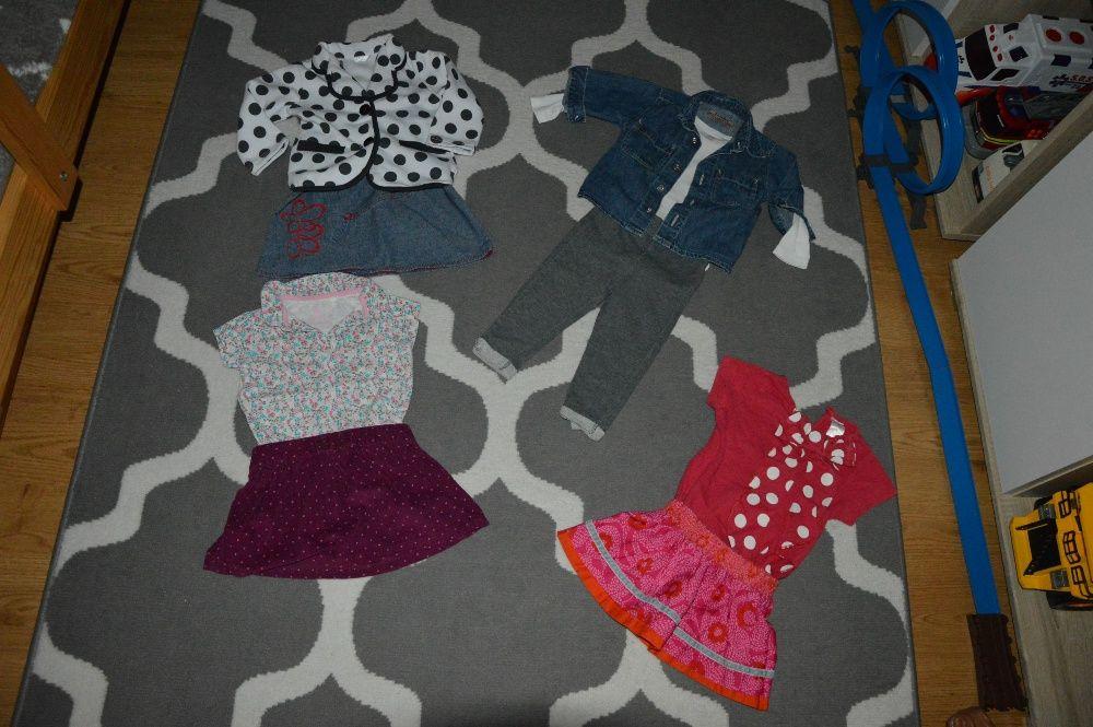 Ubranka jesienne dla dziewczynki Zara, Next H&M, 68/74 cm 42 szt. Oborniki - image 1