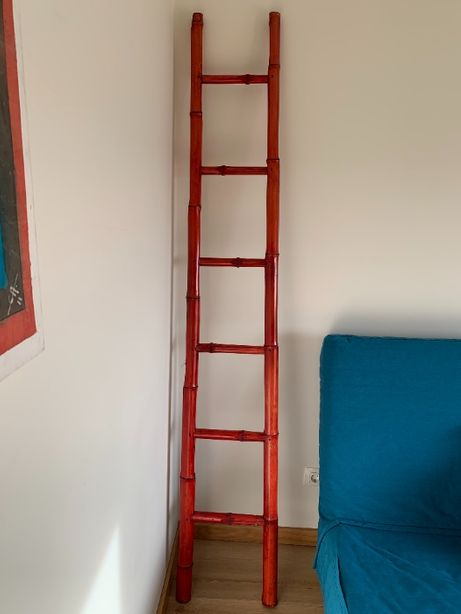 escada em bambu