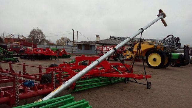 Зернопогрузчик шнековый Польща, погрузчик зерна шнековый Kul-Met 8 м