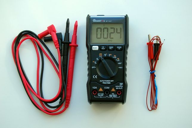 Мультиметр MUSTOOL MT108T, тестер, аналог RM102, AN8002, ZT102