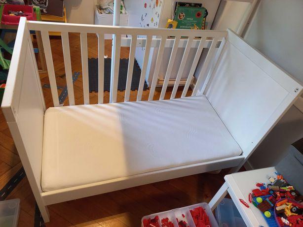 Łóżeczko dziecięce Ikea + materac