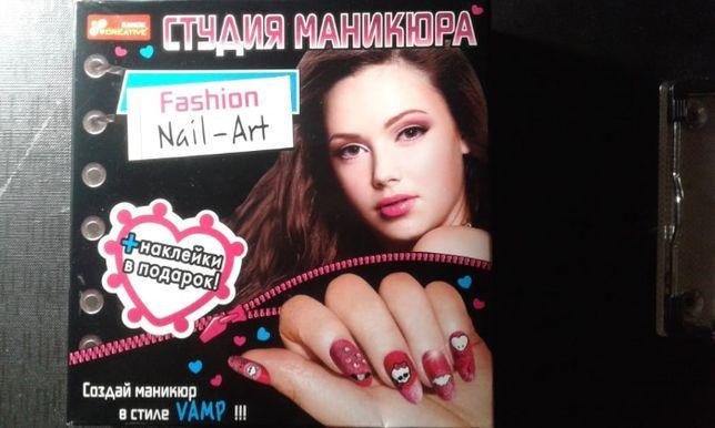 Набор для дизайна ногтей +наклейки Fashion Nail-Art (3+) Ranok игрушка