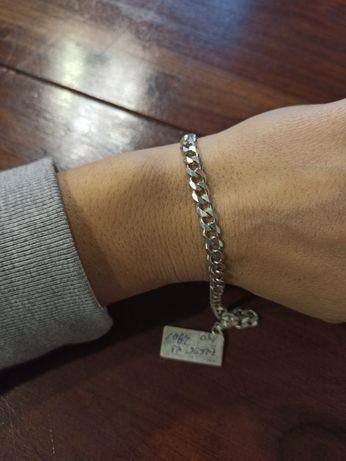 Bransoleta męska srebro 23 cm NOWA likwidacja sklepu