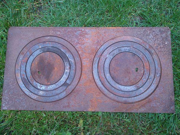 Płyta do pieca węglowego / żeliwna 60/ 31cm g/ 6mm