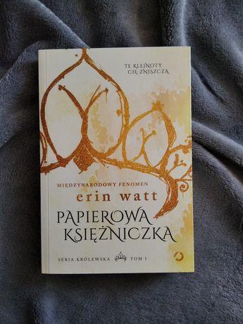 Książka Papierowa Księżniczka -Erin Watt