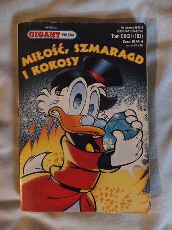 Komiks GIGANT ''Miłość, Szmaragd i Kokosy'' Nr. 192/ 2016 Disney