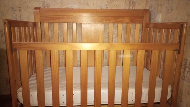 Детская кровать CRIB 2000 с матрасом