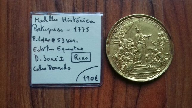 Medalha Histórica 1775 D. José I