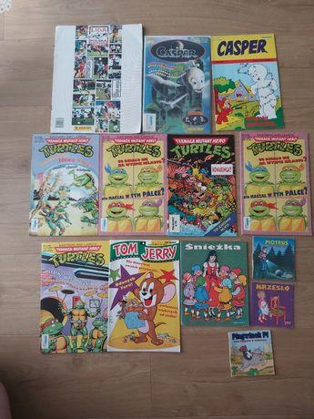 Zestaw komiksów,bajek,album tm semic