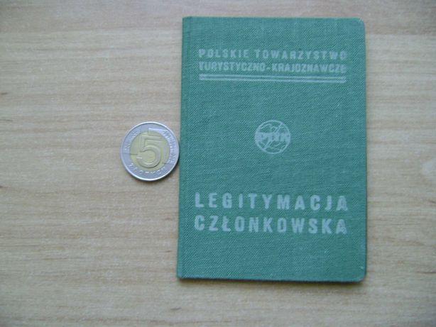 Starocie z PRL - PTTK = Legitymacja z 1981 r.