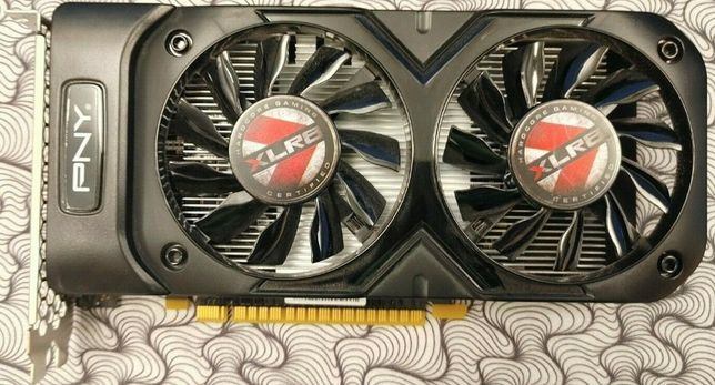 NVIDIA GeForce GTX 1050 Ti XLR8 Gaming 4GB GDDR5