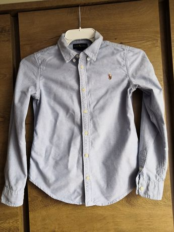 Ralph Lauren koszula slim taliowana, stan idealny, r 12, 146/152