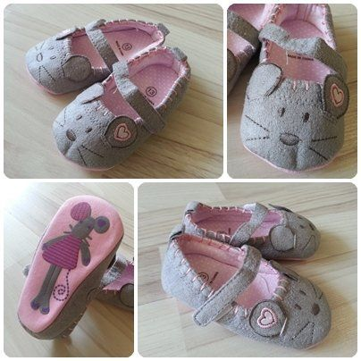buty buciki niemowlęce wzór myszka r 20 śliczne