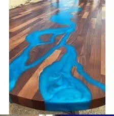 Barwnik do żywicy niebieski transparentny PERŁOWY bardzo piękny 100g