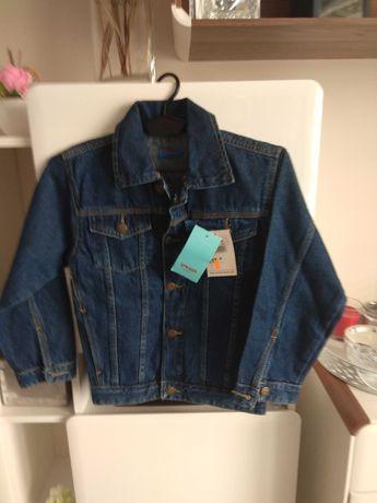 Bluza jeansowa dla chłopca 7 lat