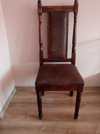 Sprzedam dwa krzesła DREWNIANE