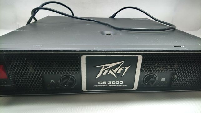 Peavey CS-3000 końcówka mocy 2x1550W/2 2x1065W/4