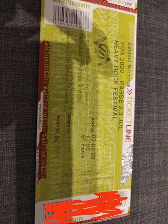 Bilhetes 2 dias VOA