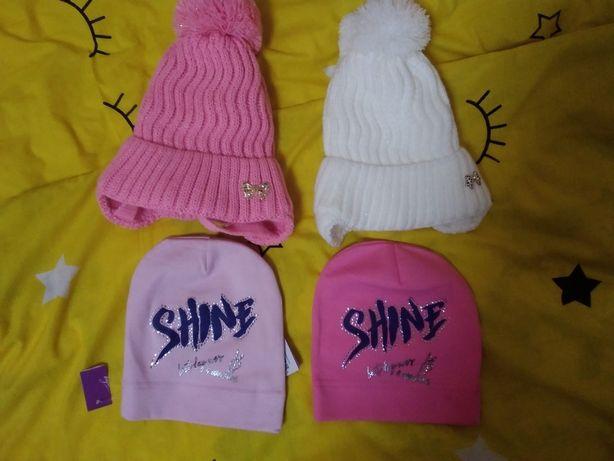 Детские шапочки на девочку