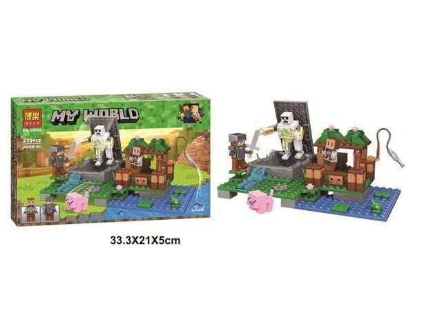"Конструктор Bela 10962 ""Голем на ферме"" Lego Майнкрафт, Minecraft"