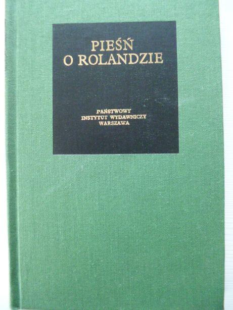 Pieśń o Rolandzie Tadeusz Żeleński Bibliotheca Mundi twarda oprawa