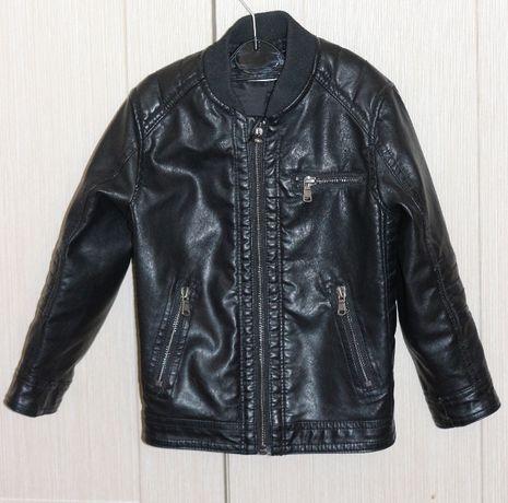 Куртка кожзам, косуха, байкерка H&M