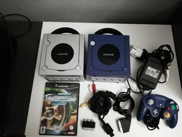 2x Nintendo Gamecube + Need for speed Underground 2