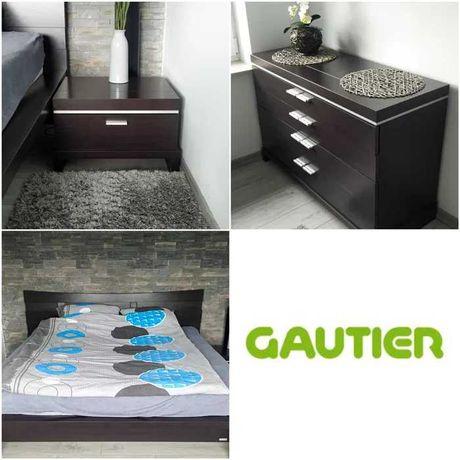 Komplet mebli sypialnia bardzo dobry stan łóżko komoda szafka nocna x2