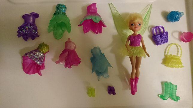 Lalka Dzwoneczek z zestawem sukienek wsystkich wróżek