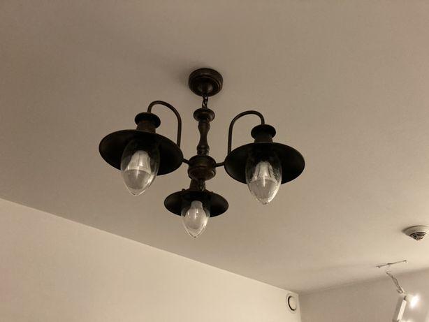 Lampa loft sufitowa wiszaca Fischerman