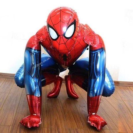 Человек Паук Spider Men надувной шарики украшения на День Рожденья