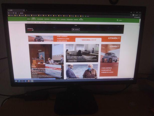 Monitor LG 24M47VQ-P 24p 60hz 2ms VGA/DVI/HDMI FHD 1080p