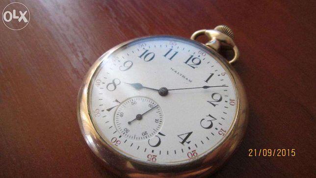 Продам часы Waltham позолота 24 карата