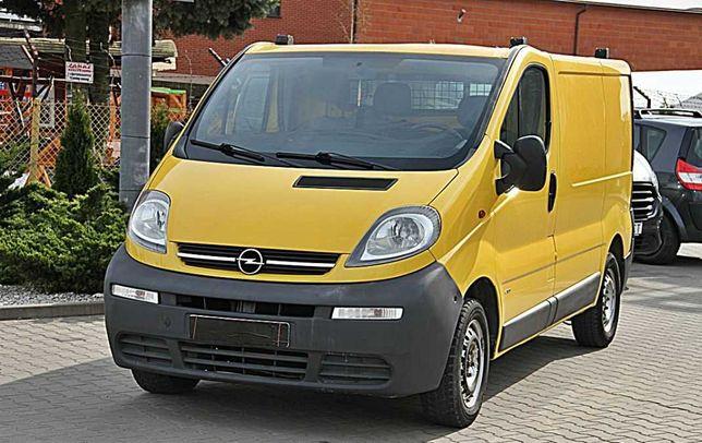 Bus na wynajem, 3-osobowy, ciężarowy Opel Vivaro przeprowadzka vanlife
