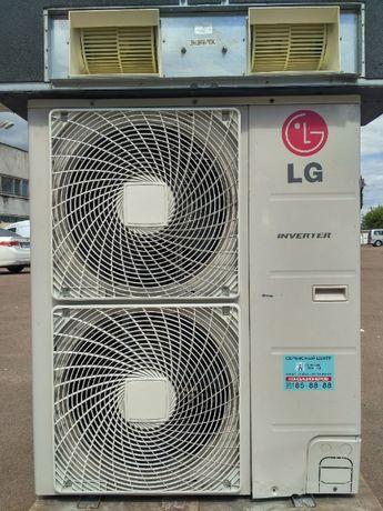 Кондиционер инвертор промышленный канальный LG UB36W б/у до 125 м2