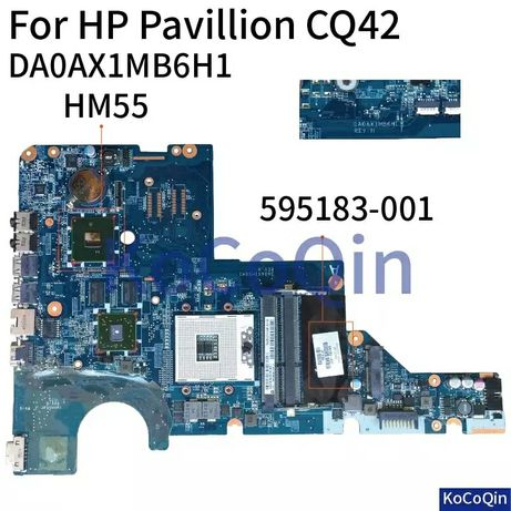 Płyta główna do hp CQ42 G42 G62 CQ62 DAOAX1MB6H1 G CQ 62 42