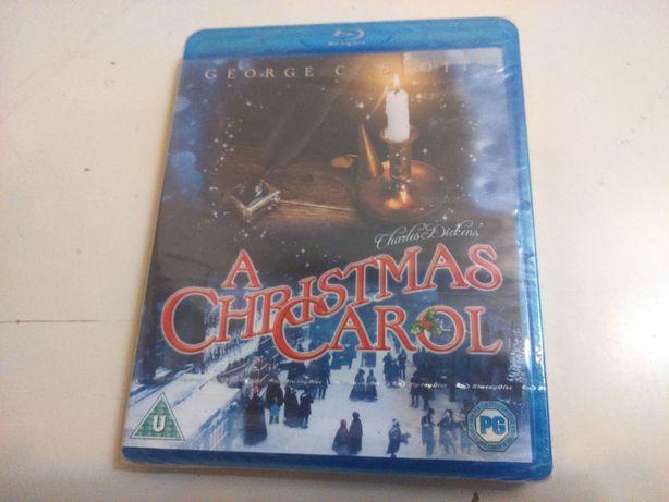 Blu-ray Novo Selado Charles Dickens A Christmas Carol