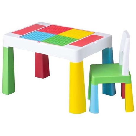 Детский столик и стульчик Tega Baby Multifun.  Тега Мультифан