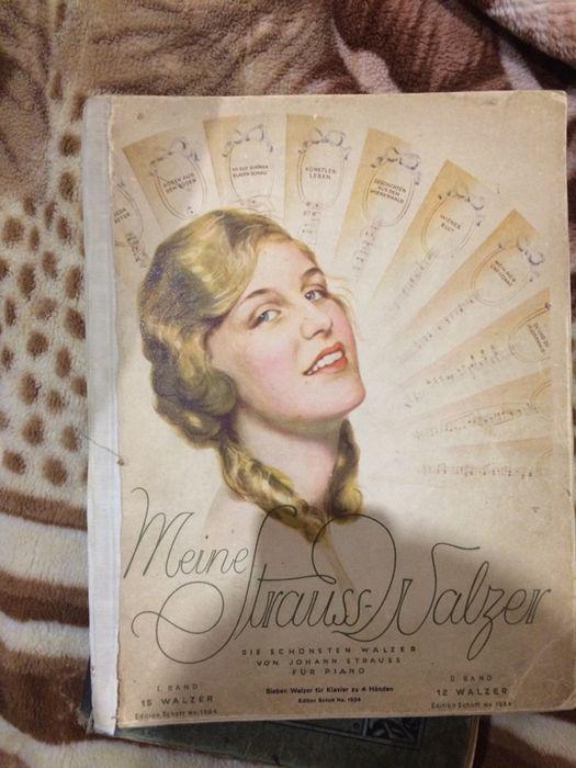 Немецкие ноты(для фортепиано, пианино) 1904-1906 годов Одесса - изображение 1
