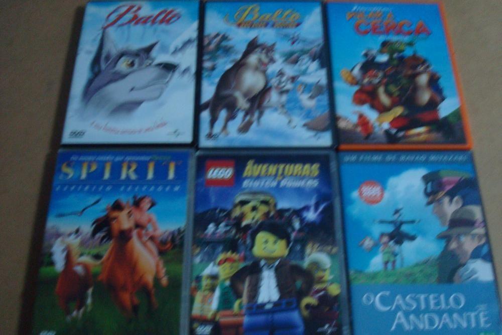 lote 23 filmes originais de desenhos animados ver lista Trofa - imagem 1