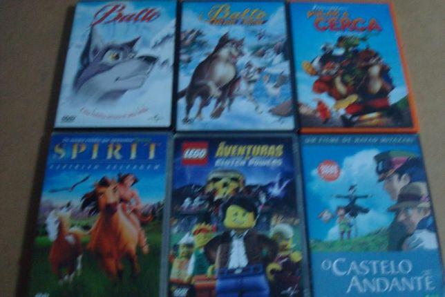 lote 24 filmes originais de desenhos animados ver lista