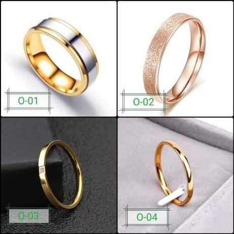 Obrączka pierścionek złota srebrna różowe złoto